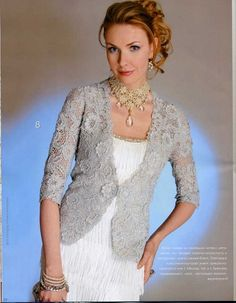 Zhurnal MOD Fashion Magazine 546 Russian knit and crochet patterns