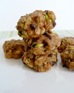 Zucchini Bread Cookies / healthy pursuit