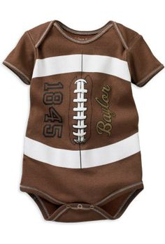 1250961c839 Adorable #Baylor football onesie for your little bear! Football Onesie,  Football Boys,