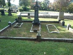Slave Lot, Oakland Cemetery, Atlanta, Georgia
