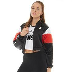 Puma Womens Super Puma Track Jacket Puma Black