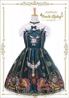 Dark Ruby Lolita dress