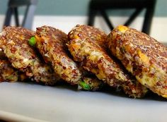 Quinoa and Goat Cheese Patties - healthy, high-protein, and perfect for a light dinner or brunch.