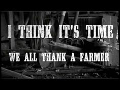 """""""A lot of folks like me still care about the FFA and county fairs, and the folks who really make this world go around.  I'd like to thank a farmer..."""" James Wesley """"Thank A Farmer"""" (Official Lyric Video)  via @Crop Insurance In America"""