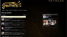 Página de Comentários do facebook do Site da Banda Gambiaha