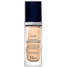 Dior Women's Diorskin Star Studio Makeup Broad Spectrum SPF 30/1 oz. ($50) ❤ liked on Polyvore featuring beauty products, makeup, face makeup, foundation, cosmetics - dior cosmetics, peach, spf foundation, christian dior foundation and christian dior