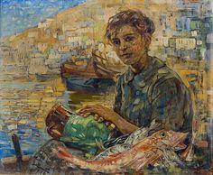 Θωμόπουλος Επαμεινώνδας-Η κόρη του ψαρά, 1943