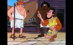 Relojes de sol, el arco entre Siena y Alejandría  Érase una vez... los inventores Siena, Tv Series, Cartoons, Family Guy, Fictional Characters, Arch, Sundial, Inventors, Once Upon A Time