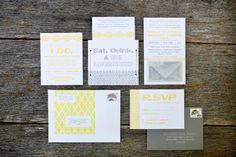 Wedding Invitations by Fourth Year Studio via Oh So Beautiful Paper (9)