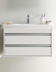 View All of Wall Hung Vanity Units Sink Units, Vanity Units, Basin Unit, Wall Mounted Vanity, Duravit, Bathroom Furniture, Double Vanity, The Unit, Image