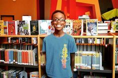 11-Year-Old Starts Club For Young Black Boys To See Themselves In Books   The Huffington Post