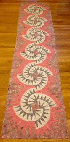 Witches Brew Bed Runner love the name! Very interesting pattern, looks like a challenging one!