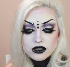Gorgeous makeup concept, I especially like the contouring