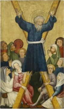 So-called Ulmer altar: The Martyrdom of Saint Andrew, c 1400