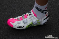 pink take off the green and ill get these! Lampre-Merida were wearing team issue Sidi Wire Carbon