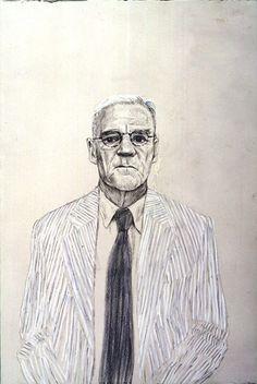 Don Bachardy. Los Angeles. 28th July 1999 David Hockney: Camera Lucida Drawings