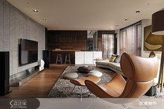 現代風的裝潢圖片為近境制作的設計作品,該設計案例是一間新成屋(5年以下)總坪數為92,格局為三房,更多近境制作設計案例作品都在設計家 Searchome