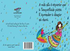 Beijos de Algodão: Dancing in the rain!