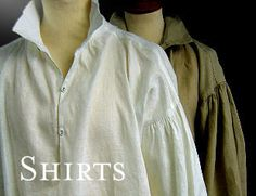 Darcy Clothing (UK) - carries period shirts, collars, cravats, braces, hats, gloves, etc.