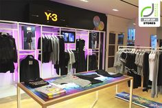 POP UP STORES! Y 3 pop up store by Studio XAG, London
