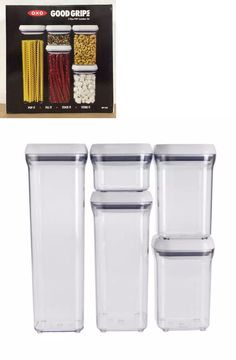 Food Storage Containers 20655: Oxo Good Grips 5 Piece Food Storage Pop  Container Set Bpa