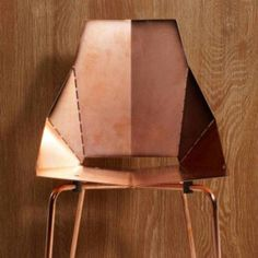 copper real good chair by Blu Dot