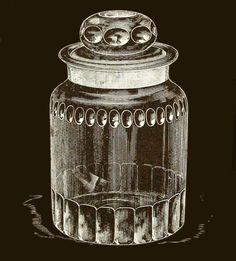 dorflingers american cut glass humidor 1893 Cigar Boxes, Vintage Advertisements, Cut Glass, Vintage Antiques, Smoking, Retro Vintage, Perfume Bottles, Advertising, China