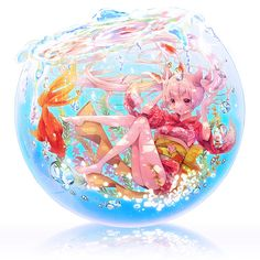 金魚姫 - pixiv