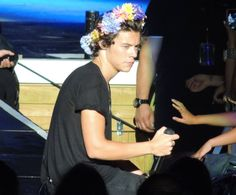 When a guy looks wonderful in a flower crown, you know you're not prettier than him.