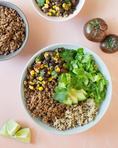 Cauliflower Walnut Taco Meat