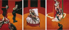 Three Studies for a Crucifixion Francis Bacon 1962 at the Guggenheim Museum NYC