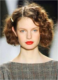 Wavy Bob Hairstyles, Vintage Hairstyles, Pretty Hairstyles, Wedding Hairstyles, Braid Hairstyles, Short Haircuts, Hairstyles Haircuts, Blond Ombre, 1920s Hair