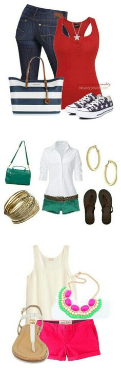 Great summer outfits!