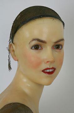 P. Imans wax Bust