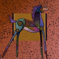 2015/05/23 Horse - Free by Bob Coonts - Free Painting - Free Fine Art Prints and Posters for Sale