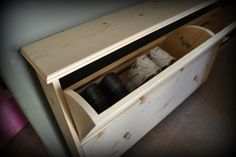 DIY Furniture : DIY Shoe Dresser