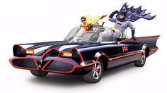 This Classic Batmobile Sculpture Also Plays the 1960s Theme Song — GeekTyrant