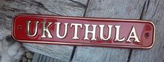 Cast Brass Name Plates and House Number Signs Name Plates For Home, House Names, House Signs, Sign Maker, Metal Casting, Just The Way, Traditional House, Clear Acrylic, It Cast
