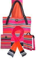 Bagabook Candy Stripe accessories