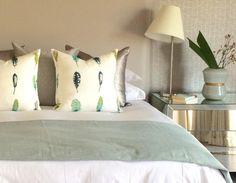 Contemporary Interior Design - Johannesburg Interior Designers - Nowadays Interiors - Wood - Blue - Tranquil Contemporary Interior Design, Decoration, Bed Pillows, Pillow Cases, Eagle, Designers, Interiors, Wood, House
