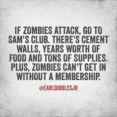 I think the zombie craze is stupid, but this is funny. Lol, Haha Funny, Funny Stuff, Funny Shit, Random Stuff, Funny Things, Nerdy Things, Random Things, Just In Case