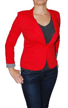 Details about New Fire Juniors Jacket V-Neck Cuffed Sleeve One Button Blazer  Colors   Size 51f3944bb7ce