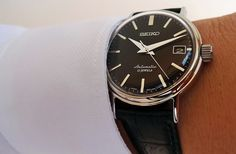 Seiko SARB029, 36mm, 6R15 movement, hardlex domed crystal, 21 600 bpm, hackable and handwinding.
