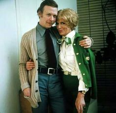 'George and Mildred' from TV series, starring Yootha Joyce and Brian Murphy