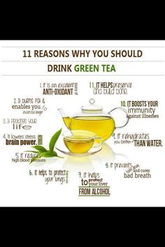 Admittedly I want to do a little more research on green tea to see if all these facts are true, but I'm excited to see what I find out, especially because I've heard so often just how incredibly good for you green tea is.