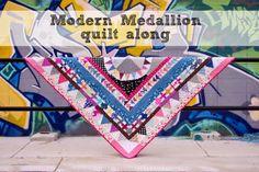 two little aussie birds: Modern Medallion quilt along