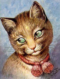 louis wain cat