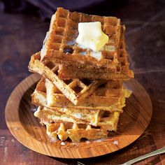 A last-minute addition of baking soda to the batter makes these classic waffles especially airy and crisp. This recipe first appeared in our Jan/Feb 2013 issue along with Ruth Reichl's article Marion Cunningham.
