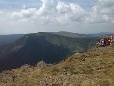 All photos from today 6.8.2015, from the highest peak here. Mount Snezka. A little over a mile over the sea livel
