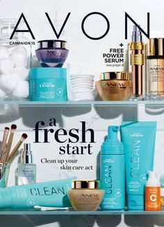 Browse the latest Avon brochure and easily order online! Brochure Online, Avon Brochure, Avon Online Shop, Online Deals, Avon Catalog, Catalog Online, Avon Representative, Skin So Soft, Serum